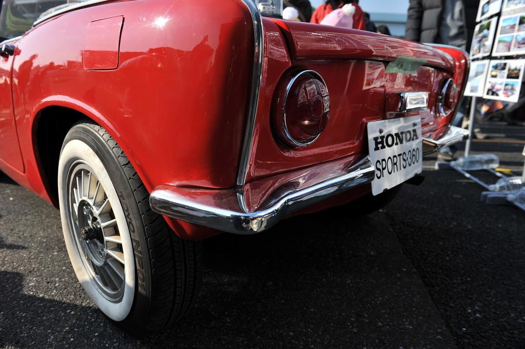 Honda S360, sports, japoński sportowy samochód, roadster, klasyk, stary, 日本車, スポーツカー, クラシックカー, ホンダ