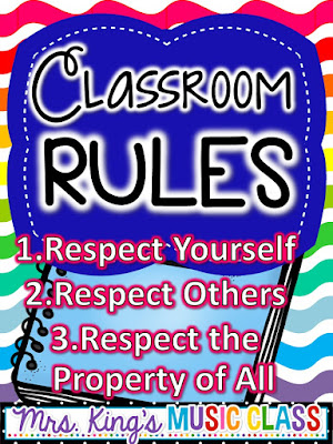 Classroom Rules by Mrs. King