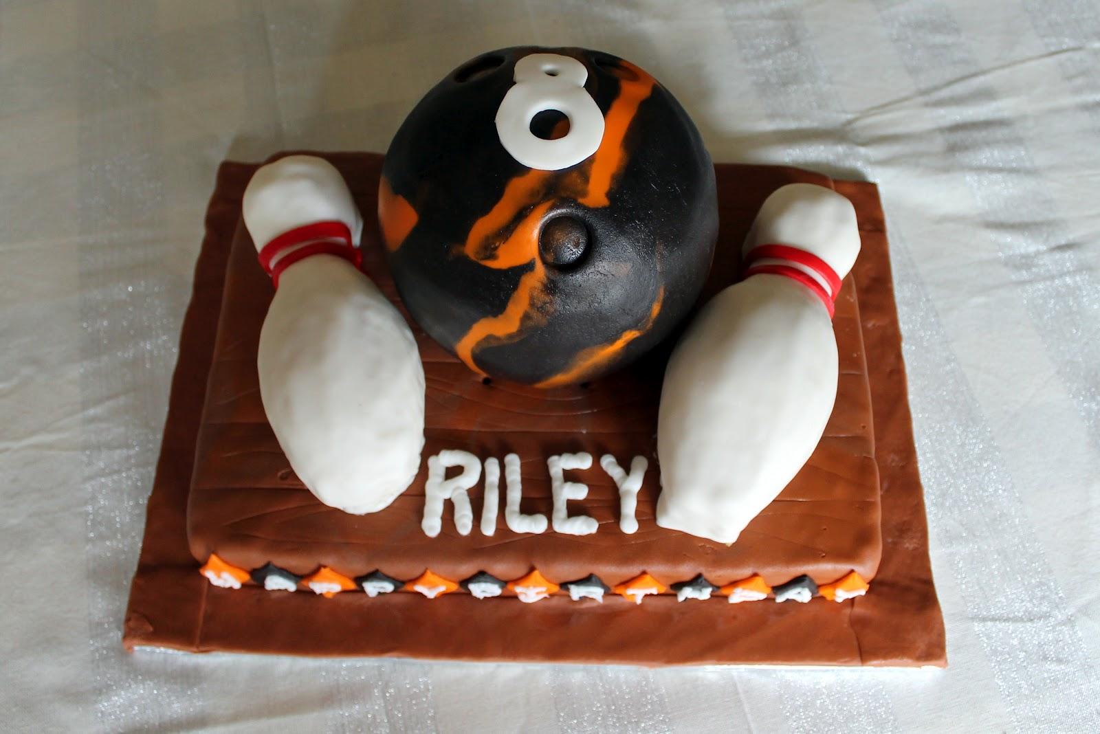 Lombardo Lagniappe Bowling Ball Birthday Cake