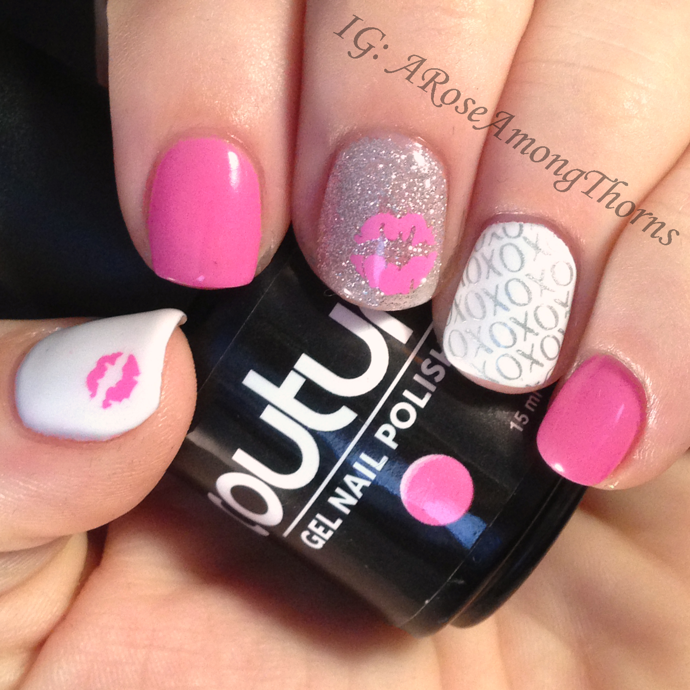 Couture Gel Nail Polish Stamping Nail Art Manicure