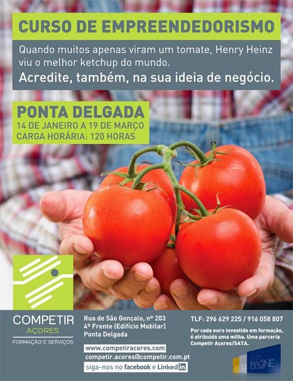 Curso de Empreendedorismo em Ponta Delgada