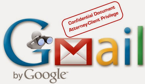 Gmail confidentiality issues