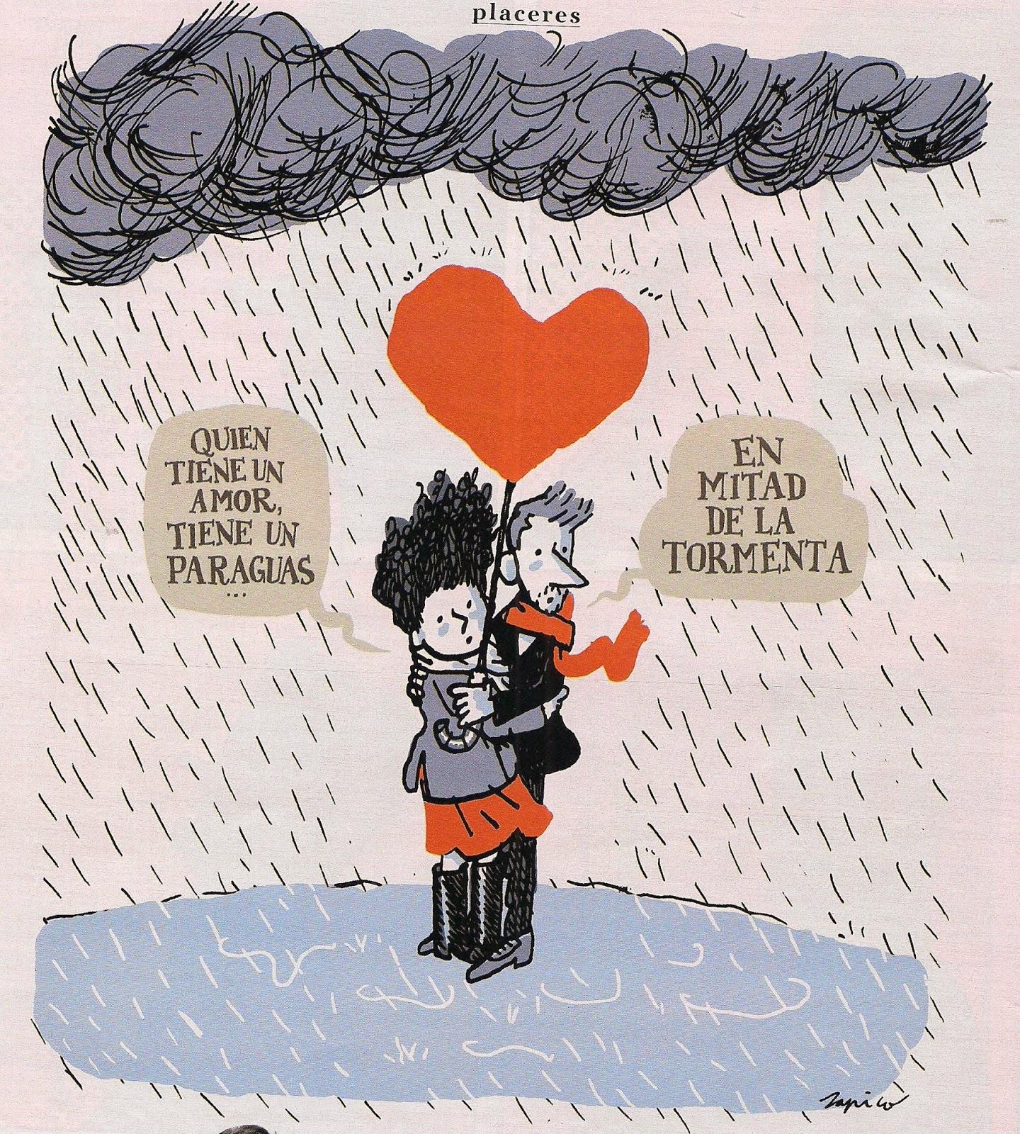 Paraguas Del Amor Amor Tiene un Paraguas en
