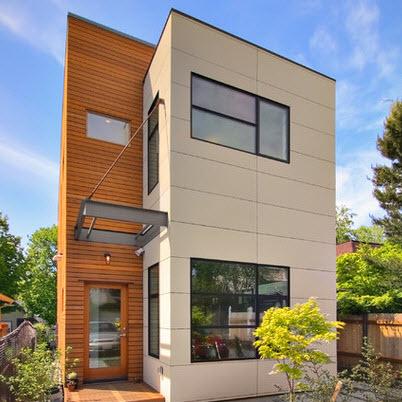 Fachadas de casas modernas todo para dise ar una hermosa for Fachadas de viviendas pequenas