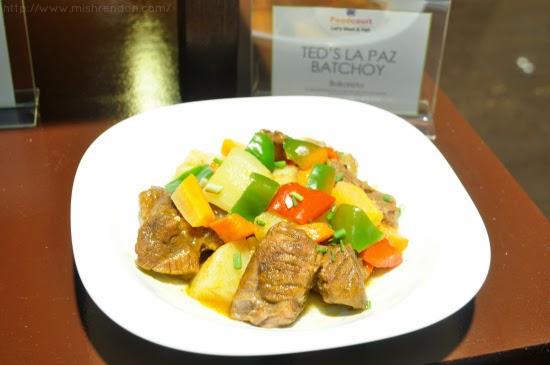 Bakareta from Ted's La Paz Batchoy SM Fairview Foodcourt
