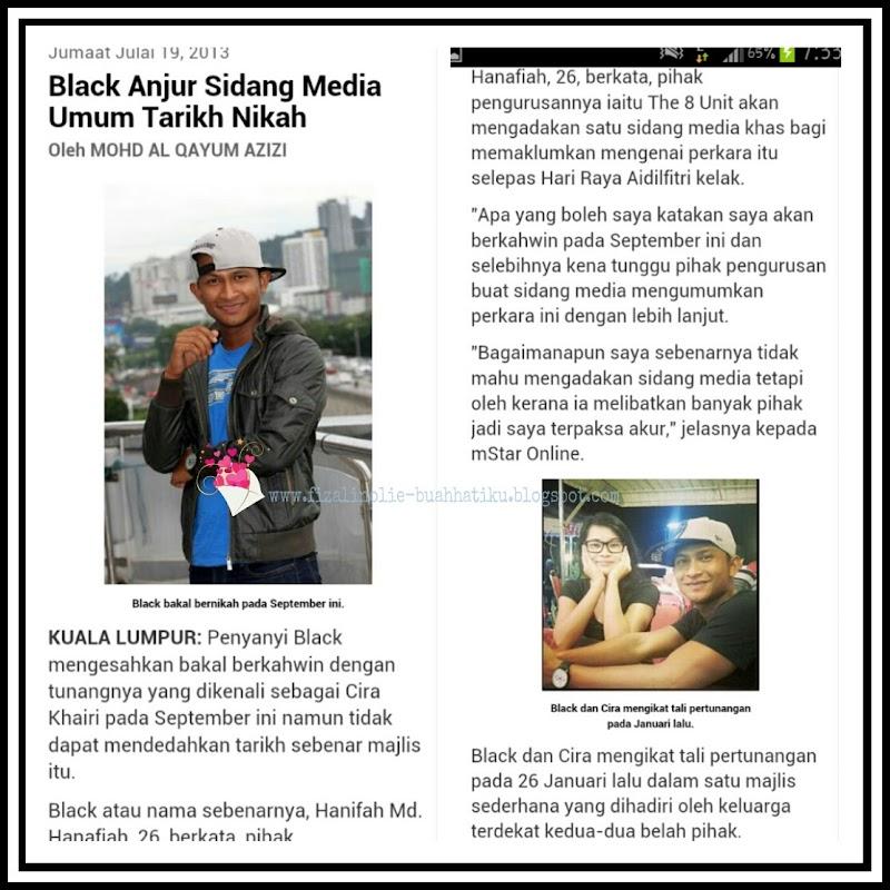 Perkahwinan Black Dan Cira Khairi