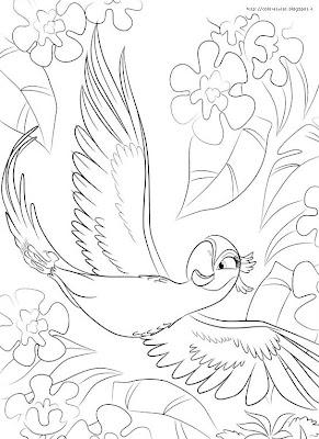 Rio coloring page