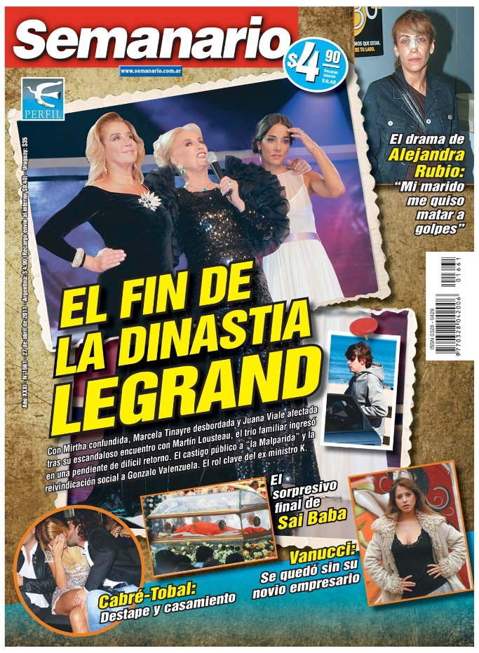 Pasando revista el contraan lisis del espect culo for Revistas del espectaculo