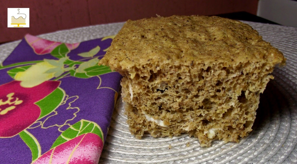 Blog Deli Art Cake Creations : Pao Low Carb de Microondas Deli Art Cake Creations