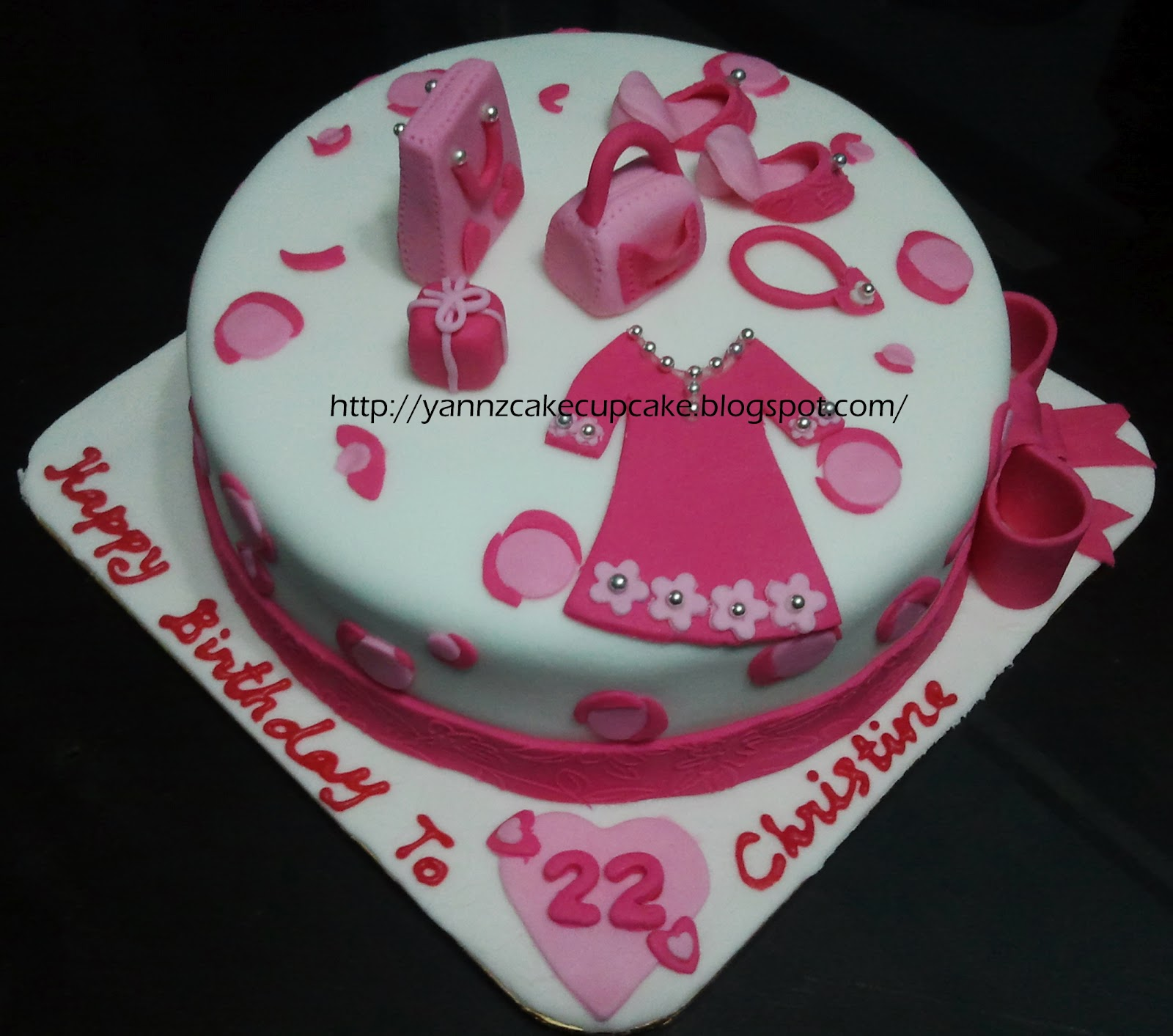 Cake Cupcake By Yannz Christine 22nd Bday
