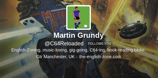 Twitter, Martin Grundy, C64 Reloaded, VideoGames