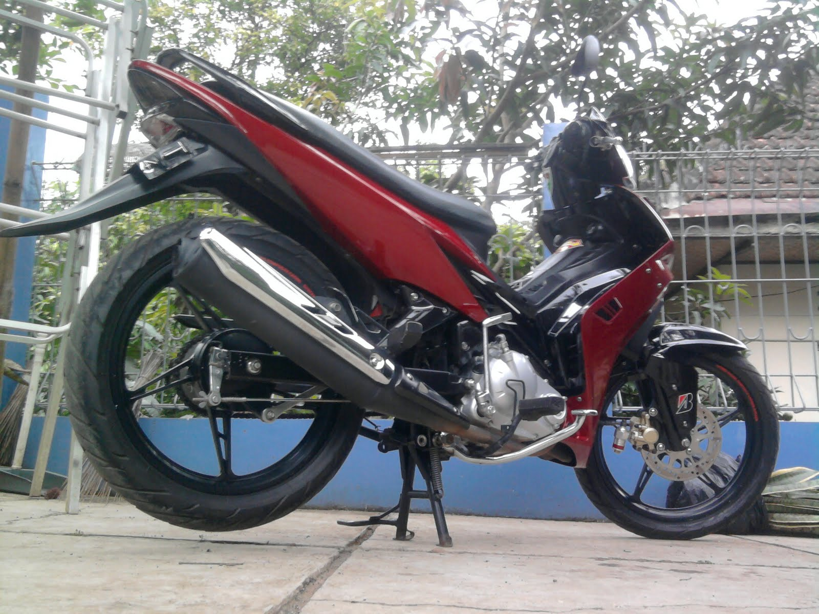 Modif Striping Jupiter Mx Lama