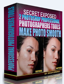 make photo smooth with secret photoshop tools