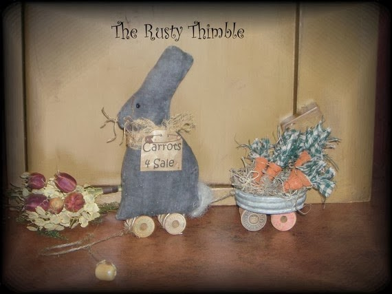 RUSTY THIMBLE MARCH GIVEAWAY