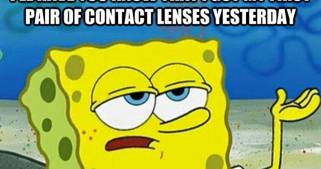 how to know which contact lens is right or left