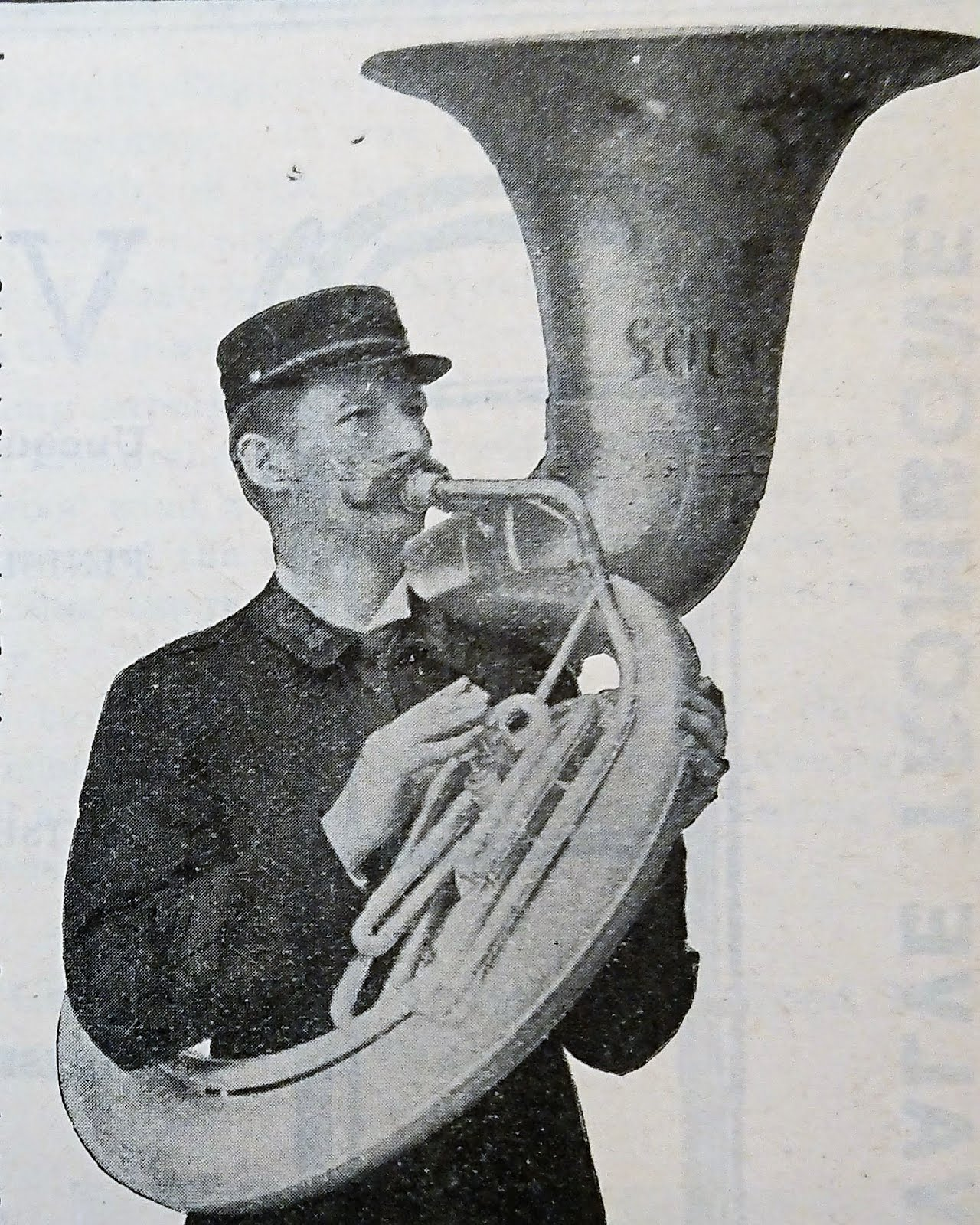 Conn's first Sousaphone