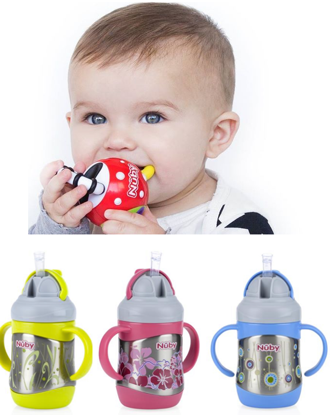 how to use nuby teether