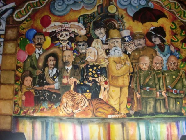 fundaci n zapata inauguran mural de la revoluci n mexicana