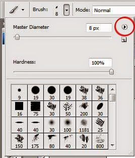 dialog brush photoshop