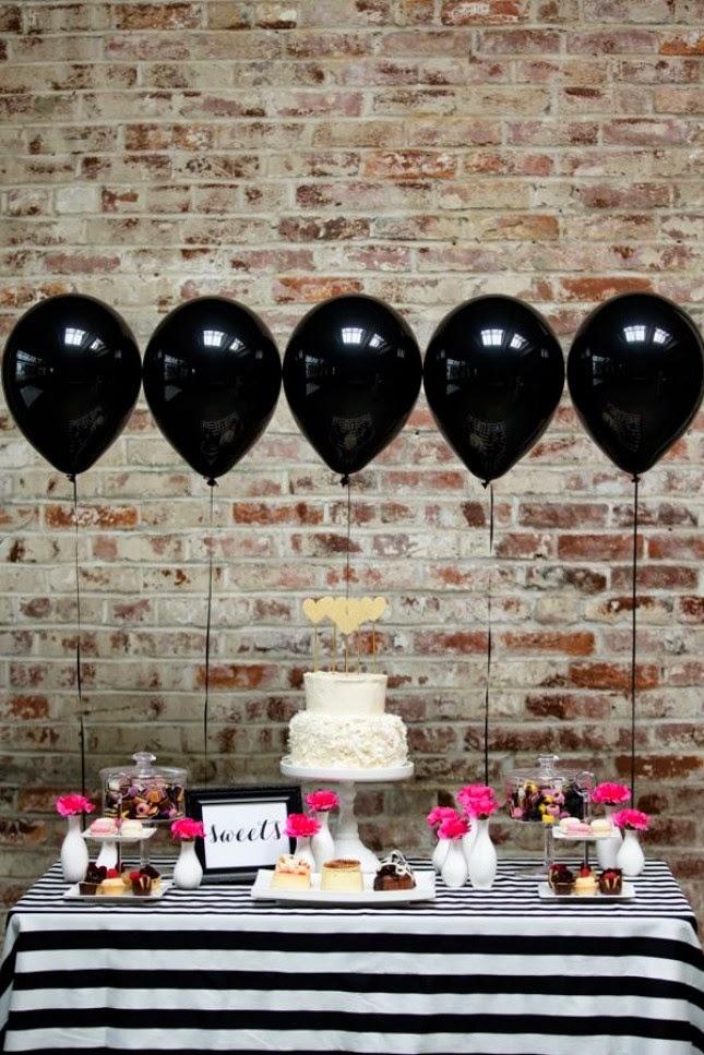 si decides poner un candy bar en la fiesta de cumpleaos puedes usar los globos para decorar la mesa cmo muy sencillo hincha los globos con helio y
