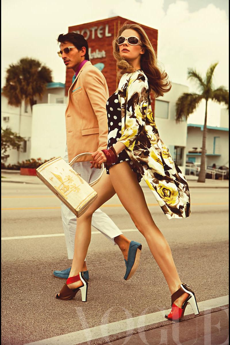 MODELOS: MIAMI VINTAGE WHIT ANDRES VELENCOSO & JULIA ...