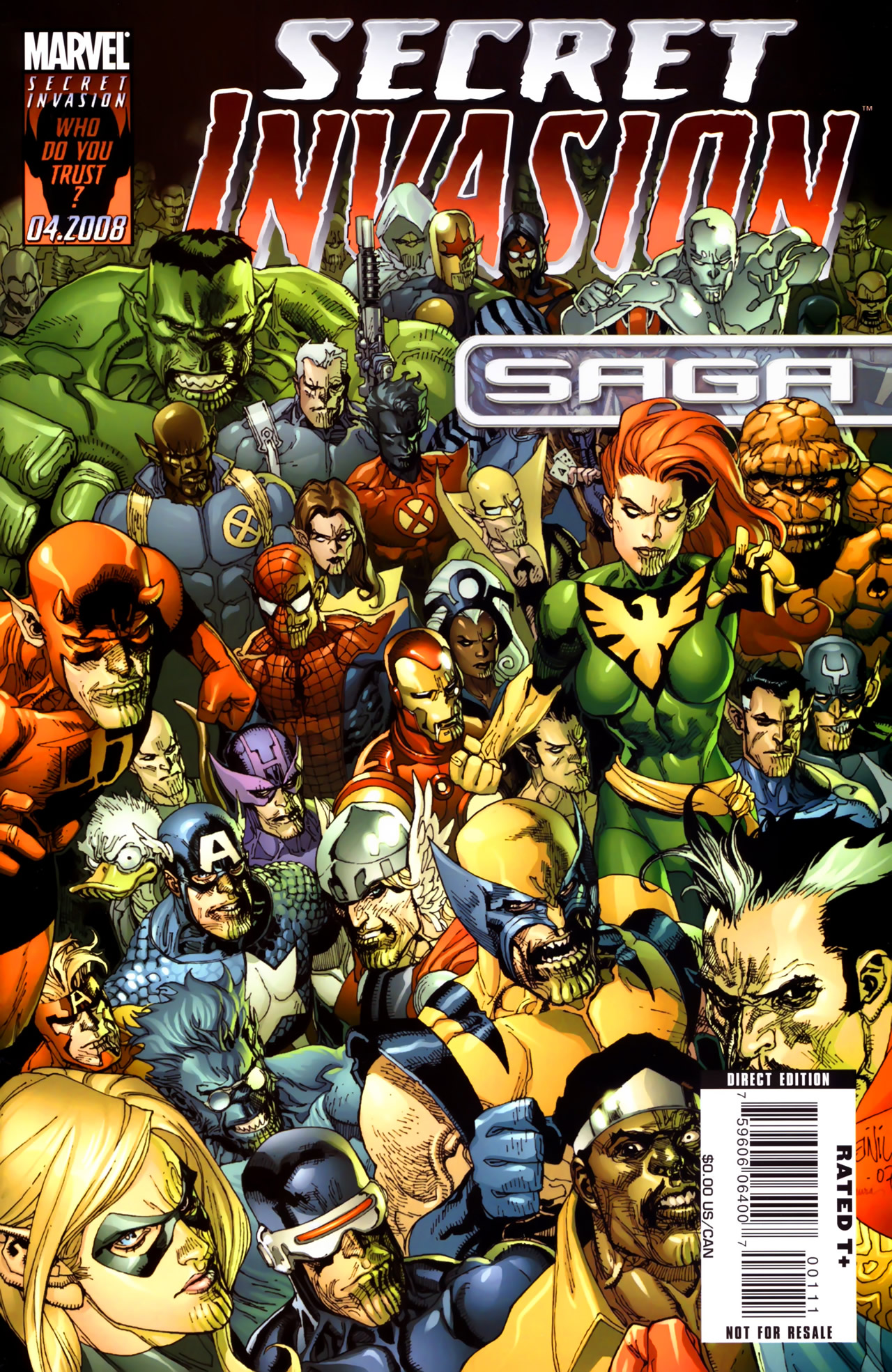 Read online Secret Invasion: The Infiltration comic -  Issue #11 - 1