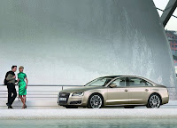 Golden Brown 2012 Audi A8 L