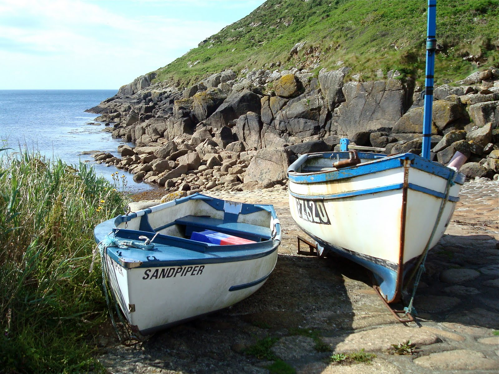 A mermaid 39 s tale july 2011 for Fish tale boats