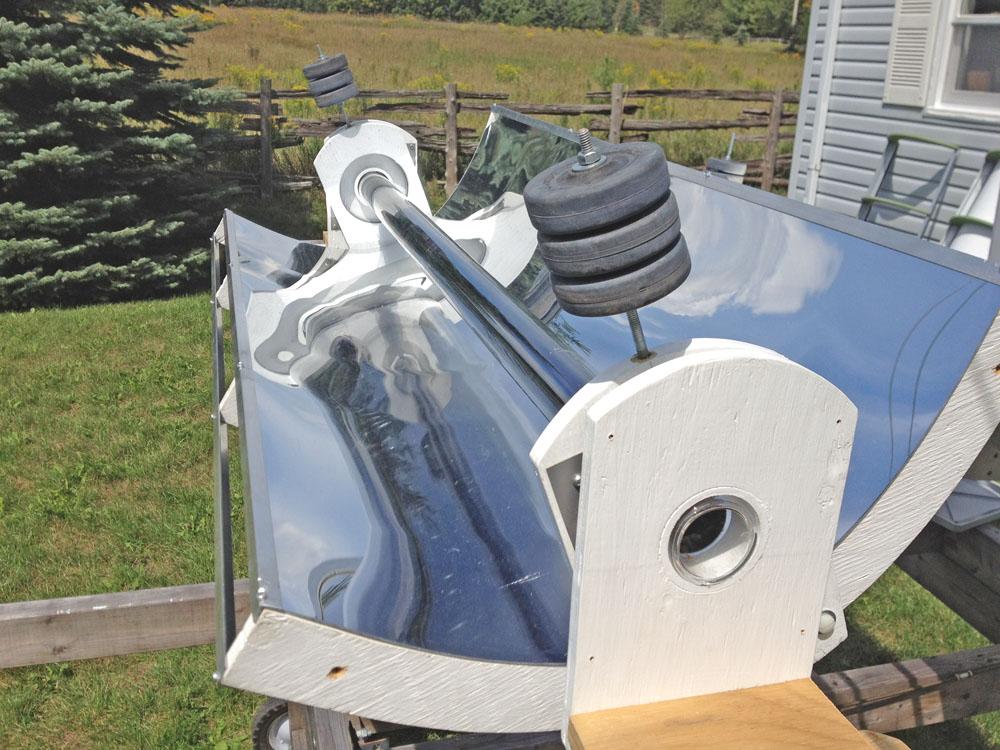 Georgesworkshop Diy Solar Parabolic Trough Gen2 Intro