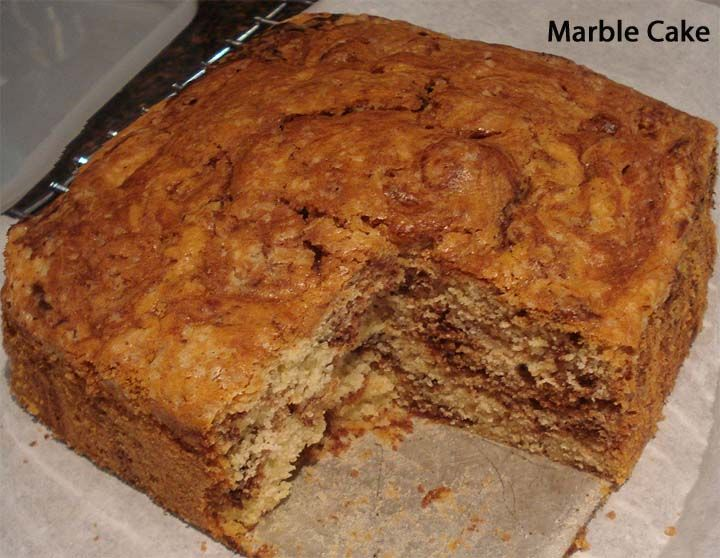 Marble Cake (quick and easy)