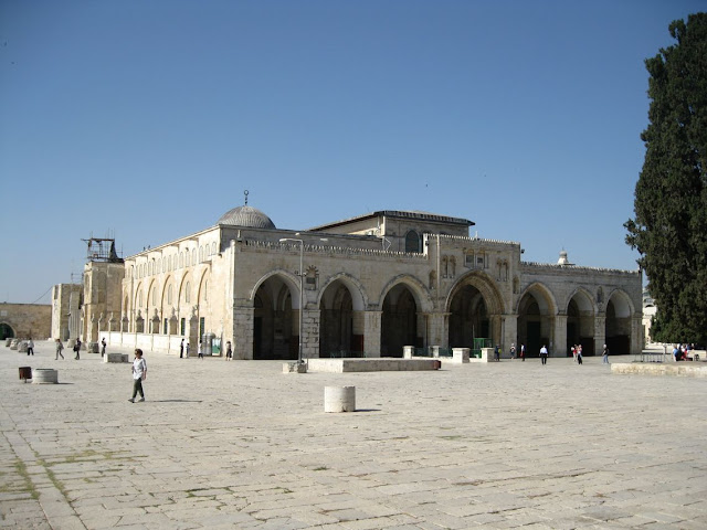 Israel, Jerusalén - Mezquita de Al-aqsa