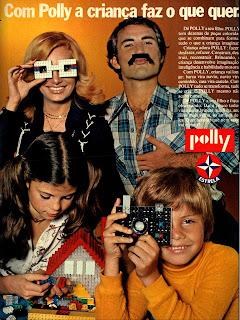 propaganda Polly da Estrela - 1976.  anos 70.  década de 70. os anos 70; propaganda na década de 70; Brazil in the 70s, história anos 70; Oswaldo Hernandez;