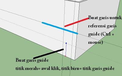 Cara membuat pintu dan jendela pada Google SketchUp-2