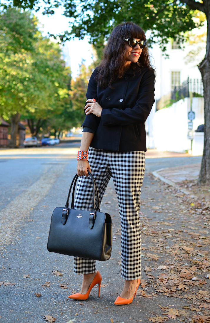 Plaid Pants Street Style