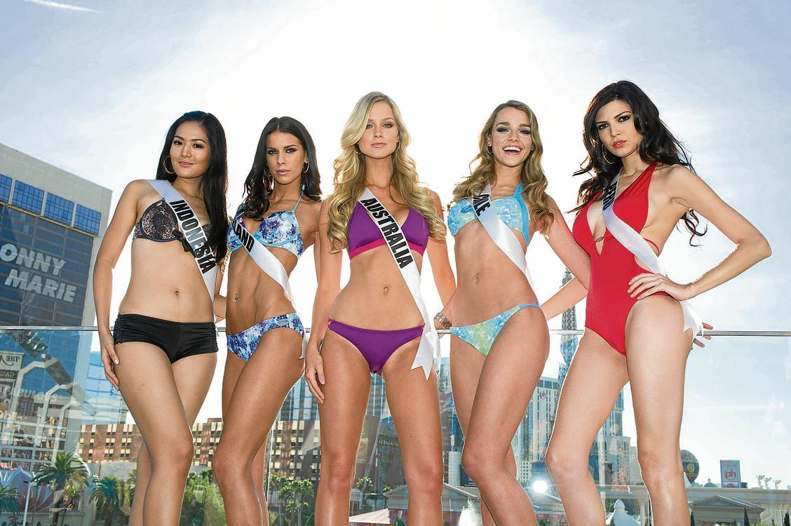 Así son algunas de las candidatas a Miss Universo 2013. Teniendo en