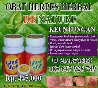 obat herpes air