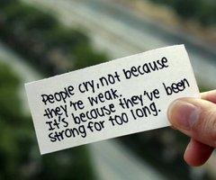 Inspiring Saying on Strength