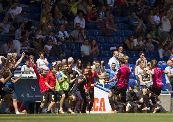 La victoria del Almería en Cornellá fue acertada por tres apostantes