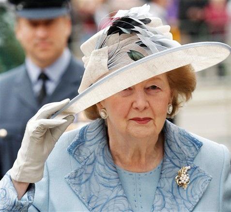Iron Lady Margaret Thatcher