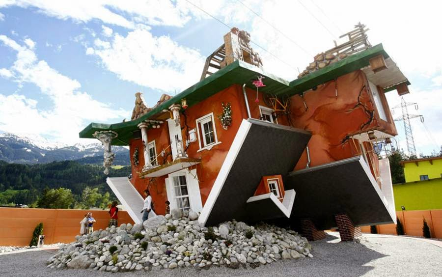 Mail2Day: Unique Upside Down House Designs Around the World (26 pics)