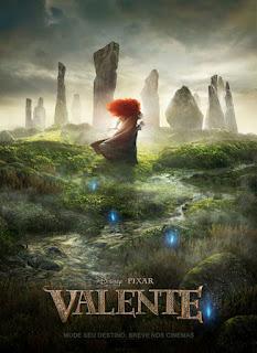 """Cartaz da animação """"Valente"""""""
