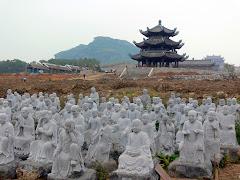 Arhat Buddha Statue