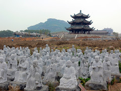 Estatuas de Buda Arhat