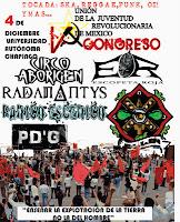 Evento Politico Cultural V Congreso Nacional UJRM