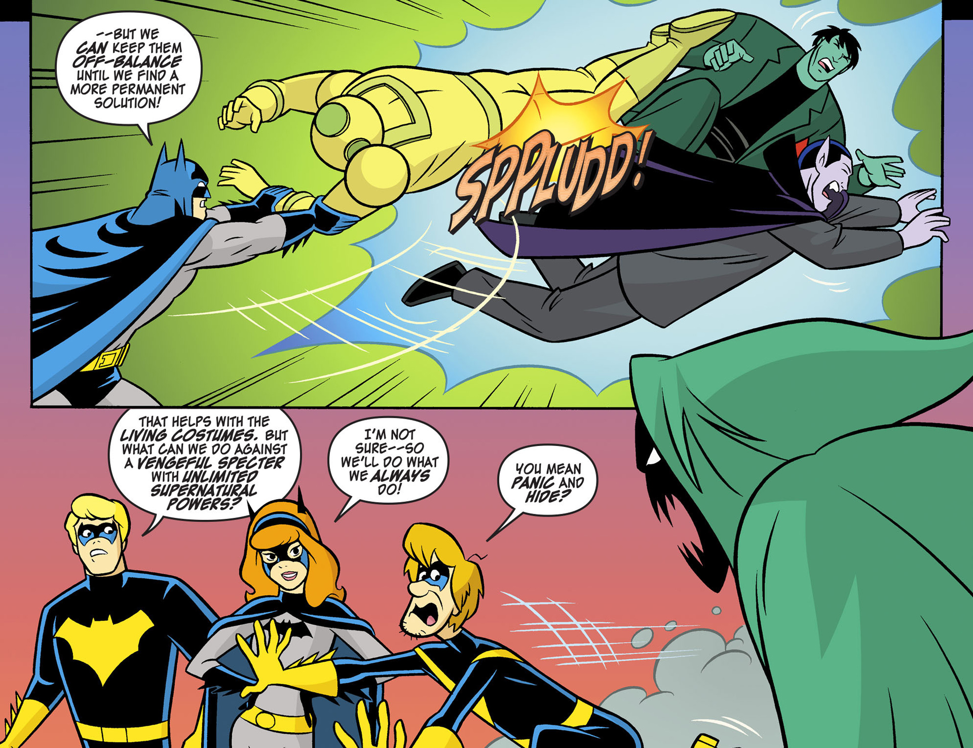 Read online Scooby-Doo! Team-Up comic -  Issue #5 - 20