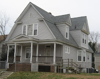 modelo de casa de dos pisos estilo americano antiguo