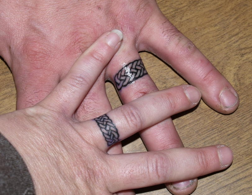 Wedding Tattoos Gallery Tattoo Rings