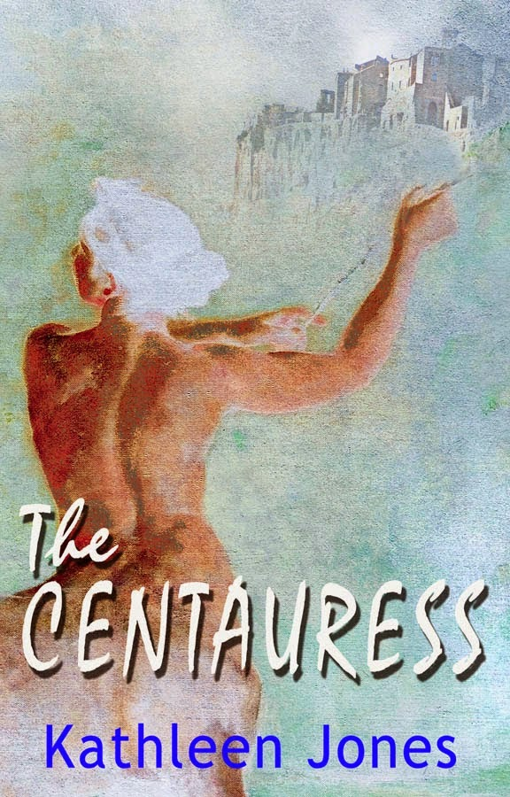 http://www.amazon.com/Centauress-Kathleen-Jones-ebook/dp/B00JUAJRH8/ref=sr_1_1?s=books&ie=UTF8&qid=1398235959&sr=1-1&keywords=the+centauress+kathleen+jones
