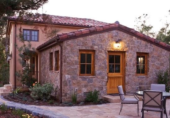Fachadas de piedra dise os de casas con fachadas de piedra for Tipos de piedra para fachadas