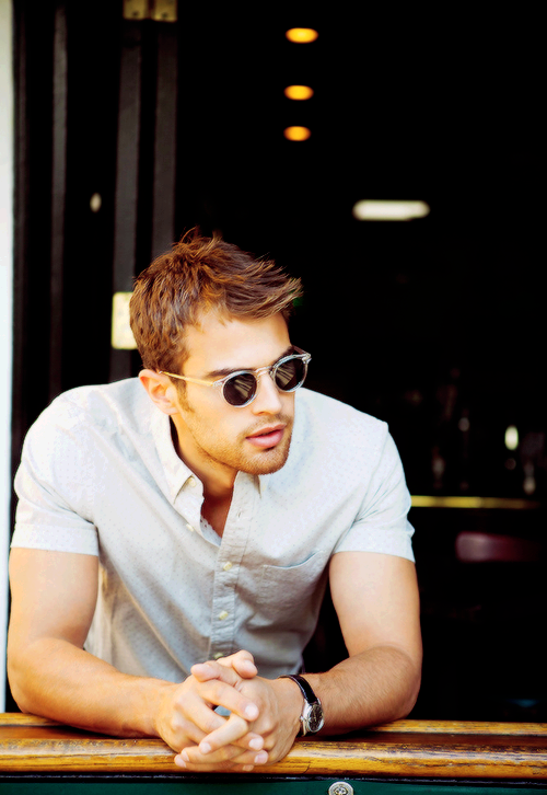 Theo James ABS